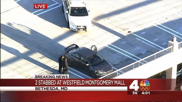 [DC] Two Stabbed at Westfield Montgomery Mall