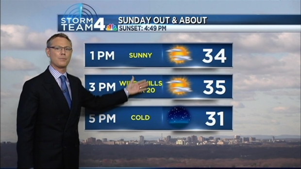 [DC] News4 Crew Ready for Cold; Are You?