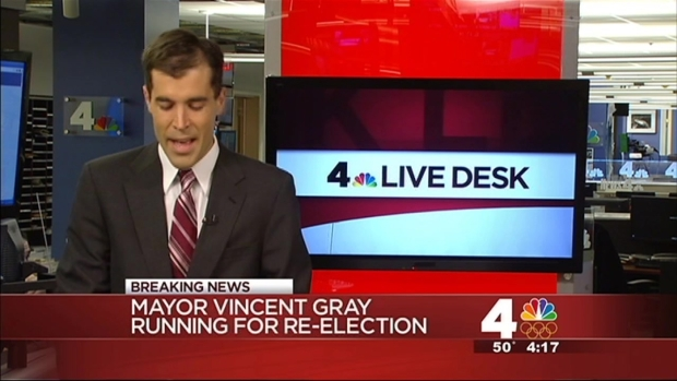[DC] Mayor Vincent Grey to Run for Re-Election