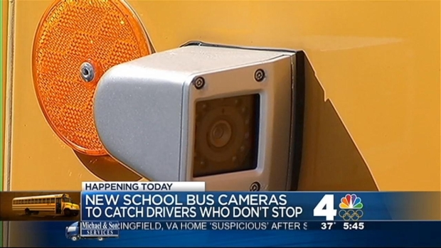 [DC] New Cameras Target Drivers Passing Stopped Buses