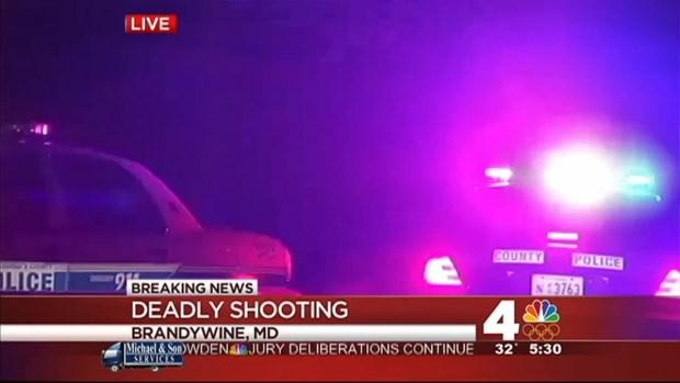 [DC] Man Fatally Shot at Brandywine, Md. Home