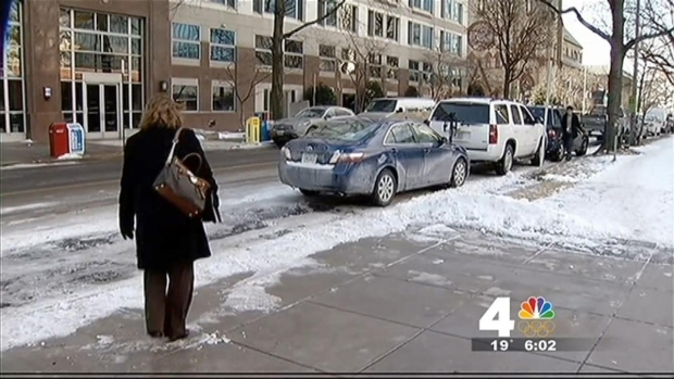 [DC] Ice Still Covering Roads, Sidewalks