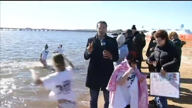 [DC] Polar Bear Plunge to Benefit Special Olympics Goes on Despite Cold