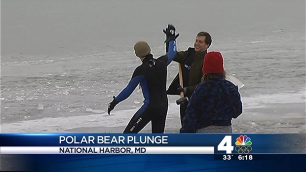 [DC] Extreme Conditions for Polar Bear Plunge
