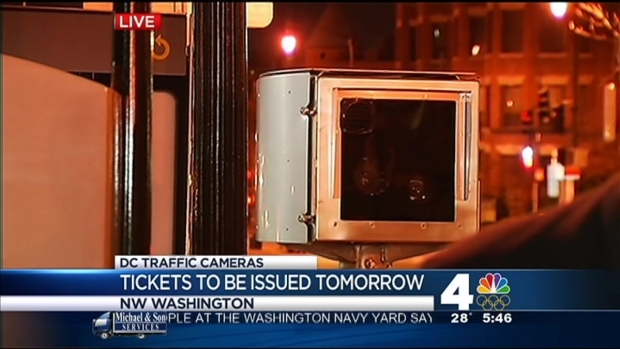 [DC]New DC Traffic Cams Begin Ticketing Feb. 1