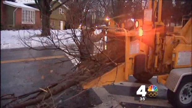[DC] Icy Conditions Leave Hundreds Without Power