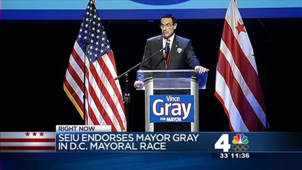 [DC] Gray Receives SEIU Endorsement