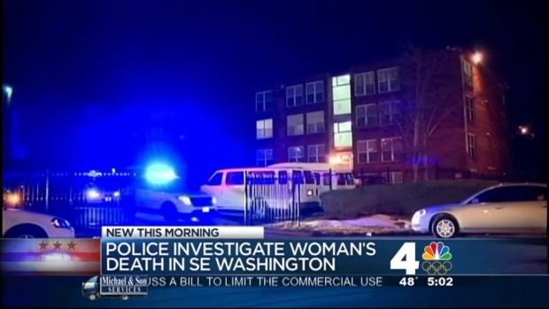 [DC] Police Investigate Suspicious Death in SE