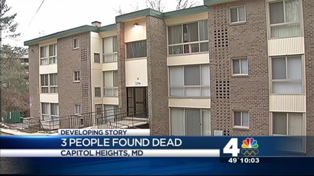 [DC] Three Found Dead in Capitol Heights Apartment