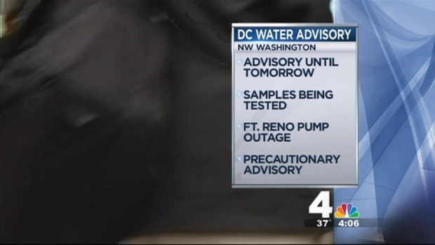[DC] DC Water Boil Advisory Likely to Last Through Friday