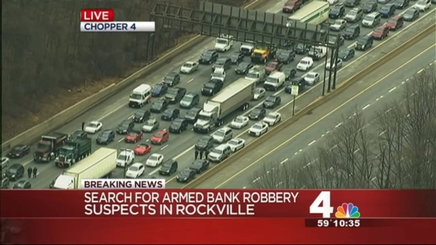 [DC] Police Search for Bank Robber on I-270