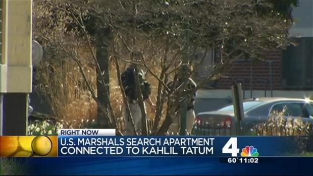 [DC] U.S. Marshals Search Khalil Tatum's Apartment
