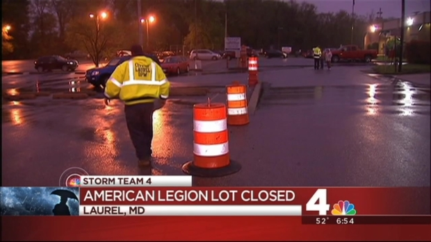 [DC] MARC Lot in Laurel Closed Due to Flooding Concerns