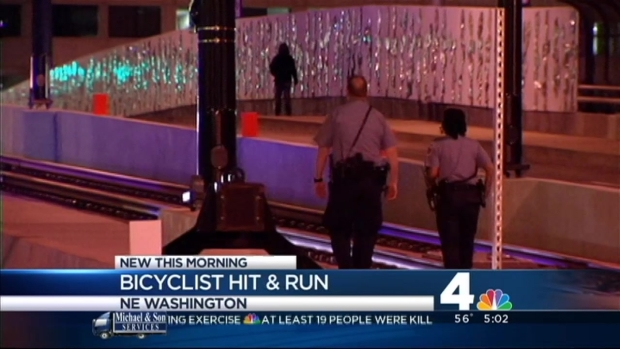 [DC] Bicyclist Struck Near Union Station