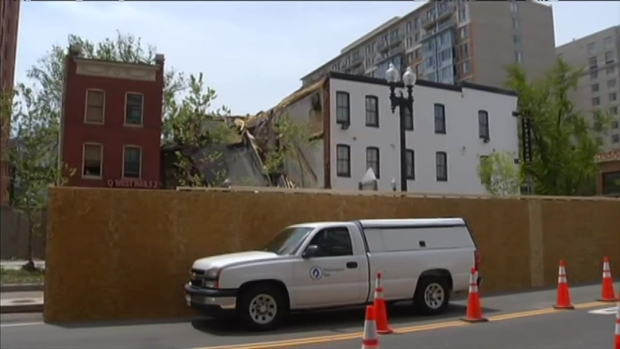 [DC] Cleaning Up After The K Street Building Collapse