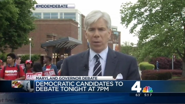 [DC] NBC's David Gregory Previews Md. Democratic Debate