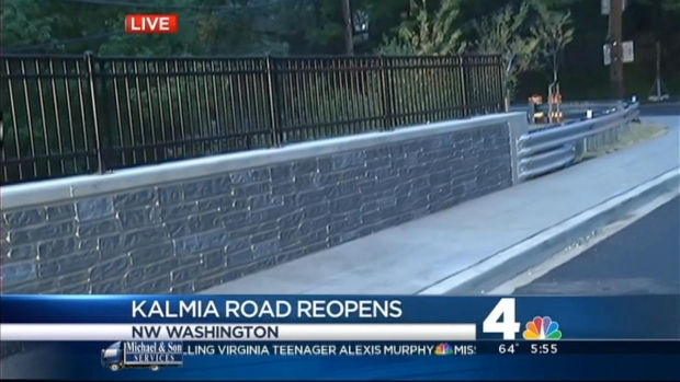[DC] Kalmia Road Crossing Reopens Friday