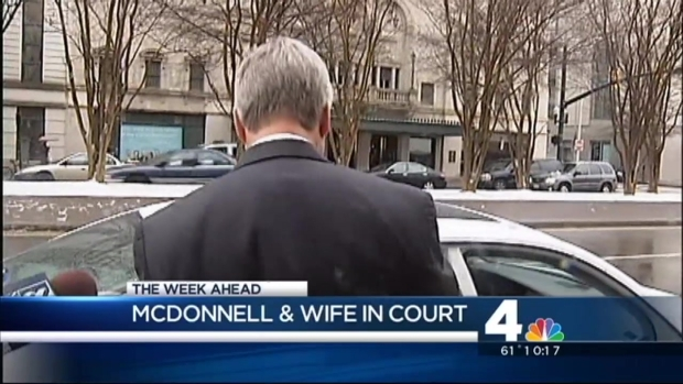[DC] Former Va. Gov., Wife Headed Back to Court