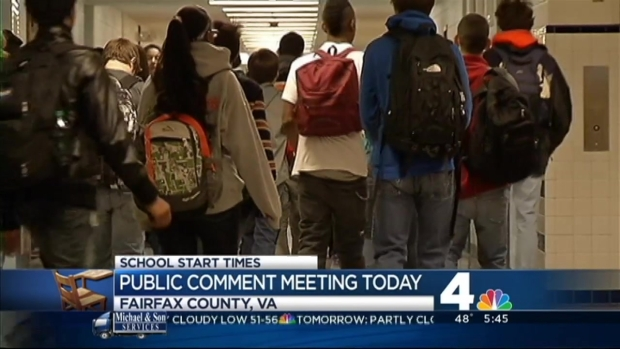 [DC] Public Input Sought on School Start Time Proposal