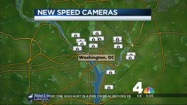 [DC] New Speed Cameras