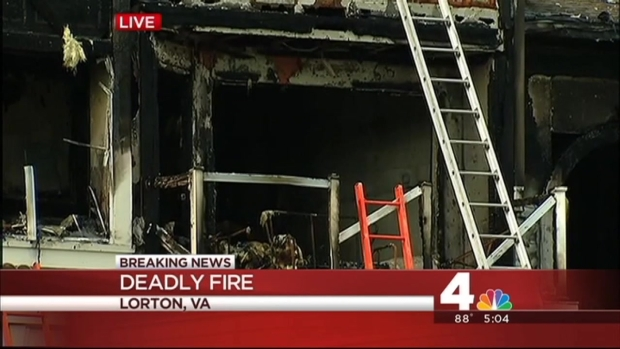 [DC] 1 Dead in Lorton Apartment Complex Fire