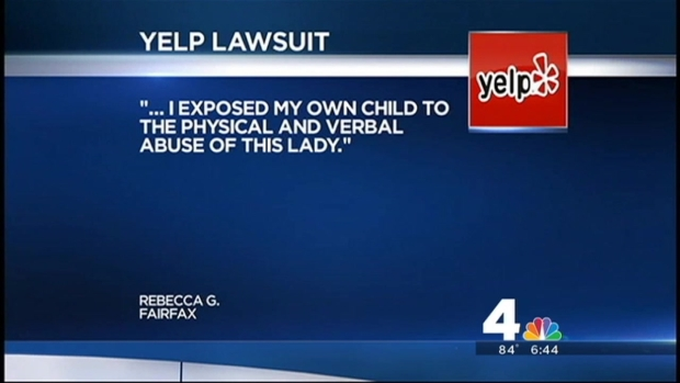 [DC] Child Care Provider Suing Woman Over Negative Yelp Review