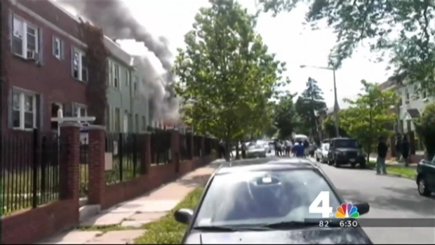 [DC] NE D.C. Explosion, Fire Investigated as Crime Scene