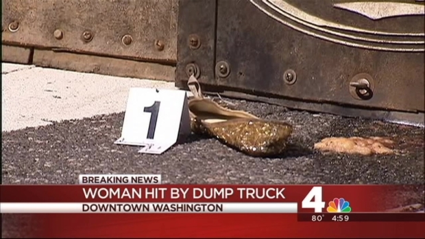 [DC] Woman Struck by Dump Truck in Downtown D.C., Critically Injured