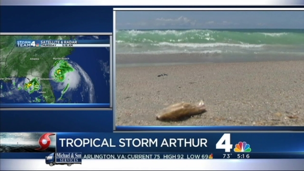[DC] North Carolina Prepares for Hurricane Arthur
