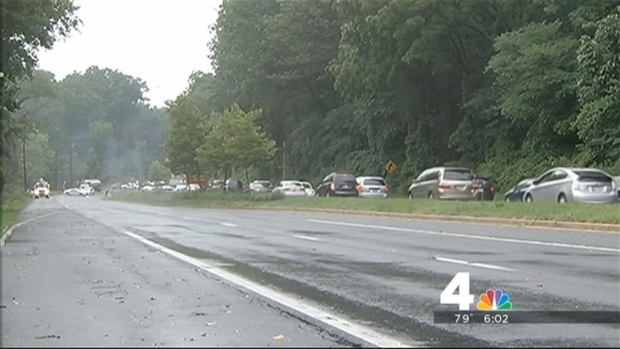 [DC] Downed Trees Create Problems in Montgomery Co.