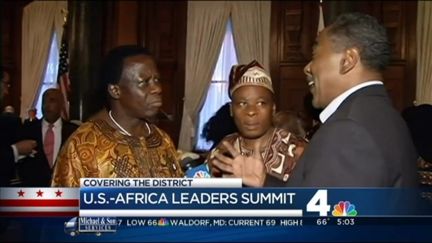 [DC] Obama Hosts Africa Summit With an Eye on Legacy