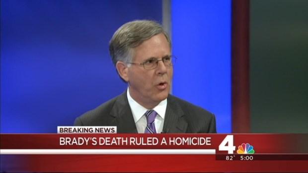 [DC] James Brady's Death Ruled Homicide