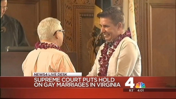 [DC] Supreme Court Halts Gay Marriage in Virginia