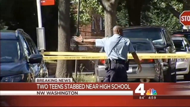[DC] Two Stabbed Near D.C. High School