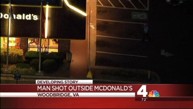 [DC] Man Shot in Head Outside Woodbridge McDonald's
