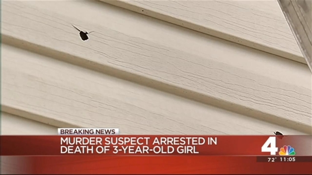[DC] Man Arrested in Shooting Death of 3-Year-Old Girl