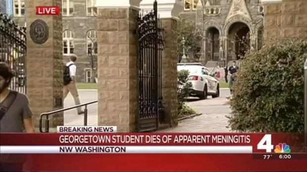 [DC] Student Dies of Apparent Meningitis at Georgetown University