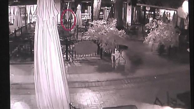 Downtown Mall Surveillance Video of Hannah Graham