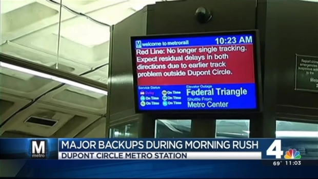 [DC]Normal Red Line Service Resumes After Rough Morning Commute