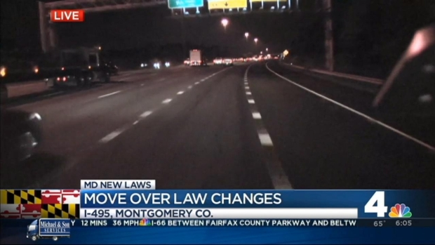 """[DC] New Addition to Md.'s """"Move Over"""" Law"""