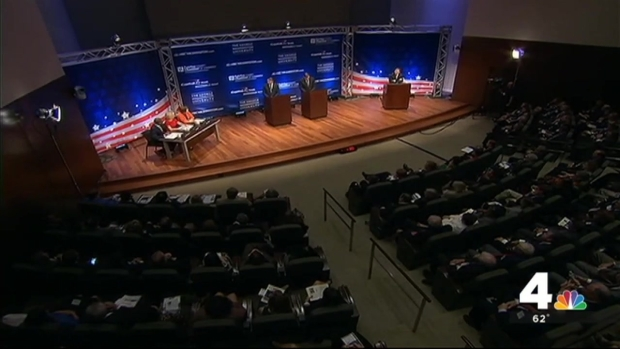 [DC] Gillespie, Warner Clash in Second Debate
