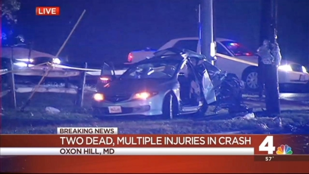 [DC] 2 Dead, Several Others Injured in Oxon Hill Crash