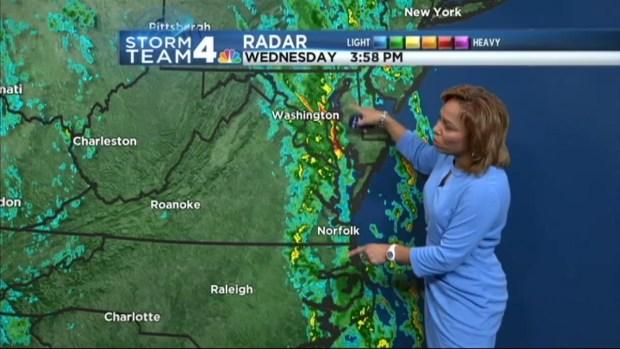 [DC] Evening Weather October 15, 2014
