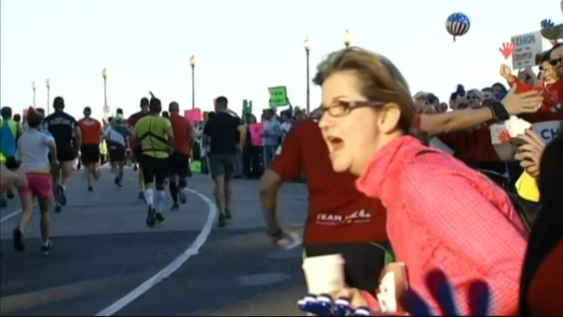 Storm Team4 Meteorologist Chuck Bell Runs The Marathon