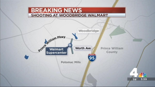 [DC] Man Armed With Hammers Shot by Off-Duty Cop Outside Walmart