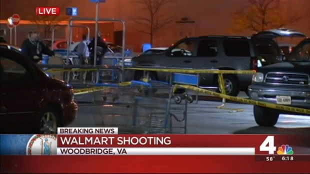 [DC] Man Armed with Hammers Shot Outside Walmart