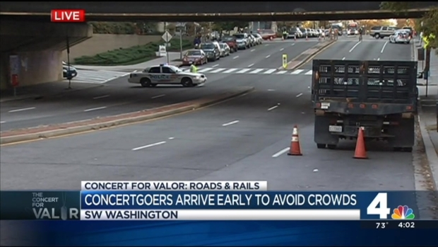 [DC] Concert for Valor: Fans Head to National Mall