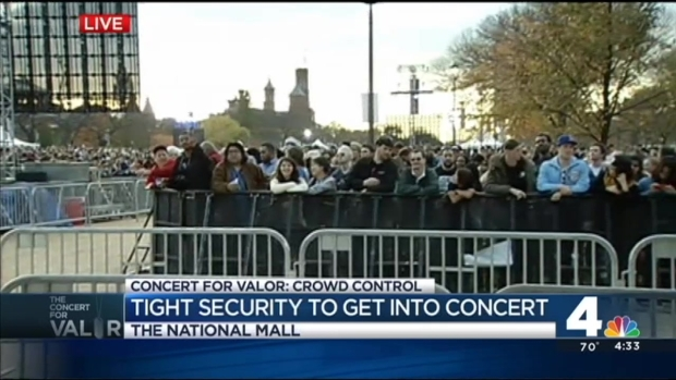 [DC] Concert for Valor: Security Checkpoints in Place