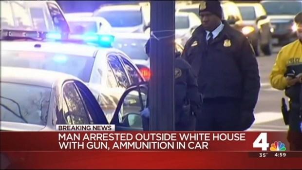 [DC] Ammunition, Blade Found in Car Near White House