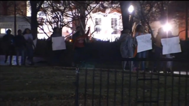 Protesters Reach White House After Ferguson Decision